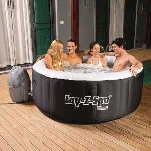 Bestway Lay-Z-Spa Miami Inflatable Hot Tub Review • Heaven in a Tub