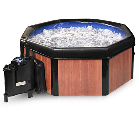 comfort line products spa n a box portable spa review heaven in a tub. Black Bedroom Furniture Sets. Home Design Ideas